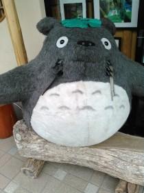 sisi Totoro etait la aussi... (Bon pas dans le sanctuaire c vrai !)