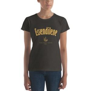 T-shirt femme ESSENDILENE, Sahara Desert Trekking 2017, manches courtes