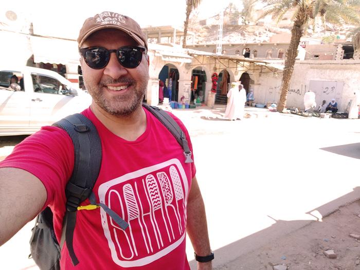 T-shirt homme trek SAHARA