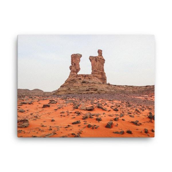 Toile photo désert algérien Tadrart Rouge Algérie, 45.7x61cm