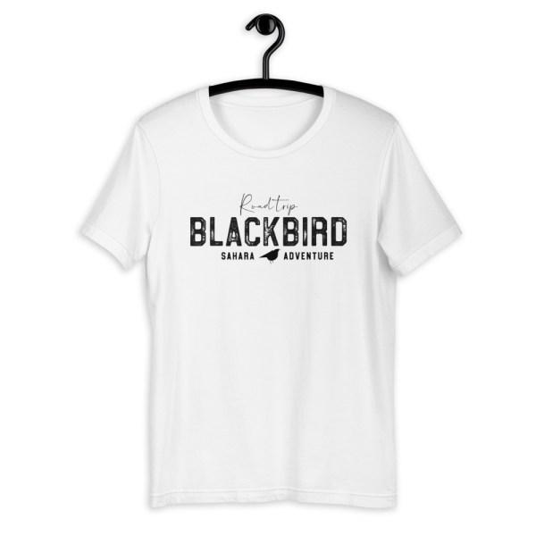 BLACK BIRD Road trip t-shirt blanc homme femme