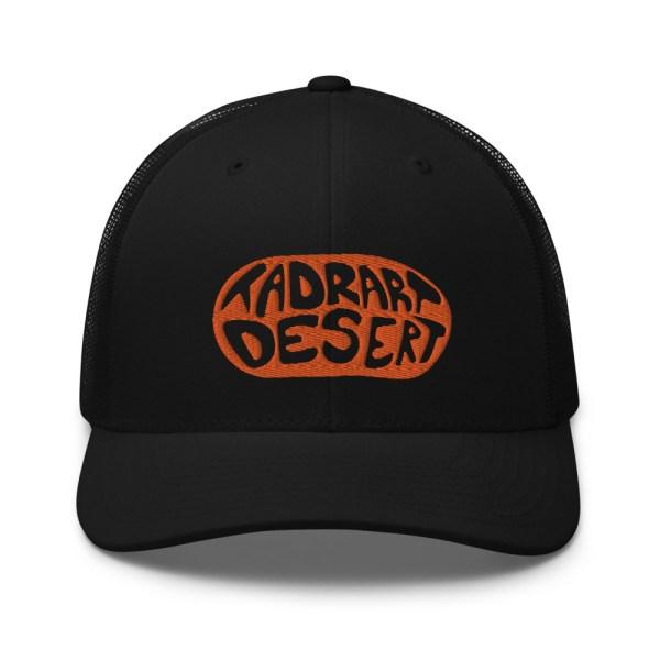 Casquette Trucker TADRART DESERT - Noir