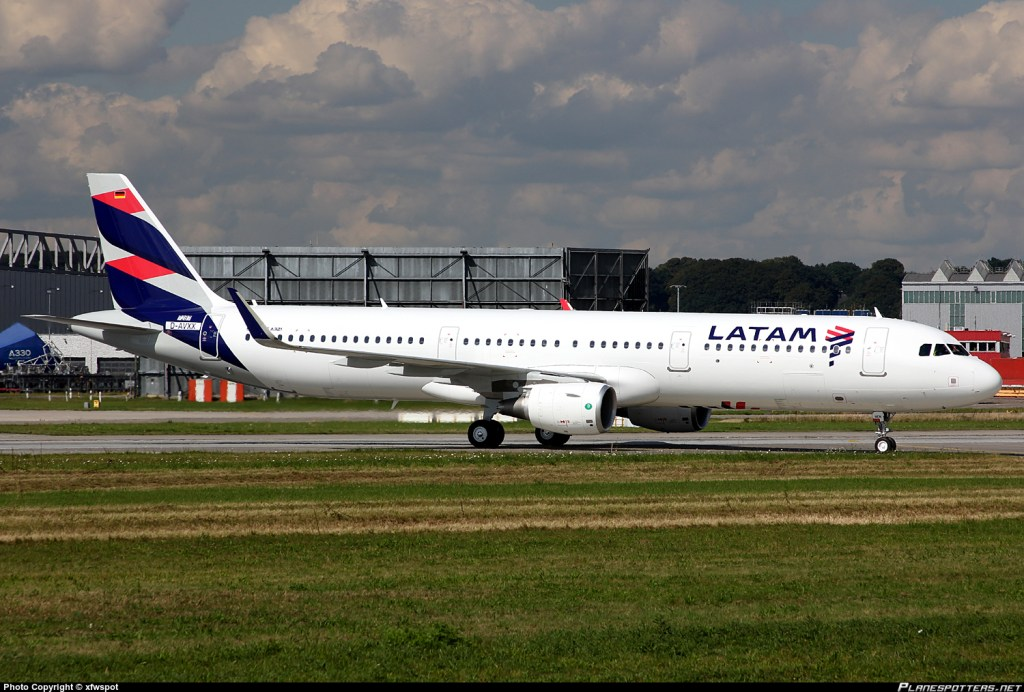 Fifth Freedom Flights : LATAM Airlines Chile(LA)