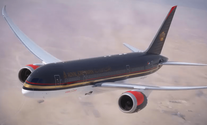 Fifth Freedom Flights : Royal Jordanian Airlines(RJ)