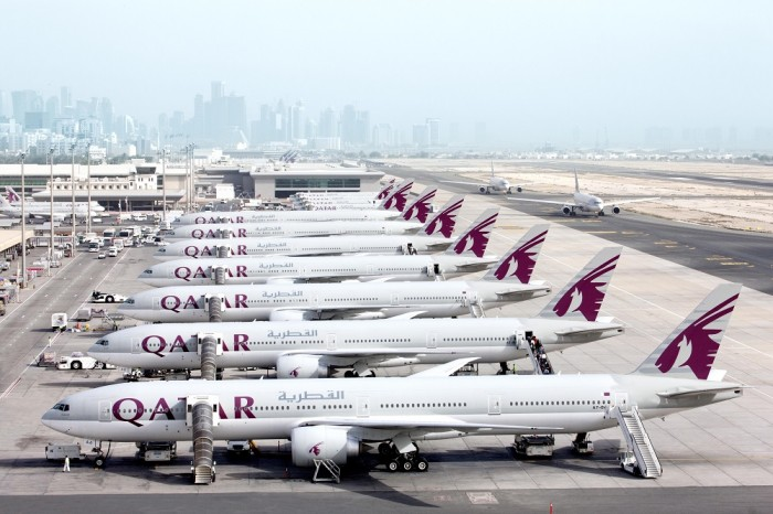 Fifth Freedom Flights : Qatar Airways(QR)