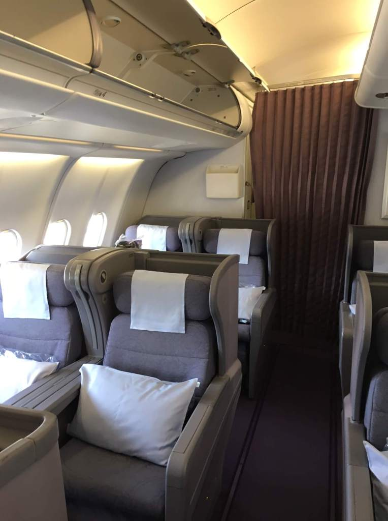 Business Class Review : CI159(KIX – TPE)