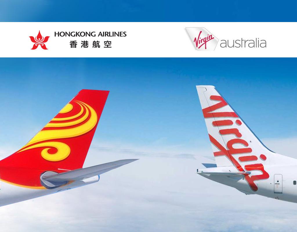 ヴァージン・オーストラリア(VA)のマイレージで海南航空(HU)、香港航空(HX)のフライトがオンラインで予約可能に