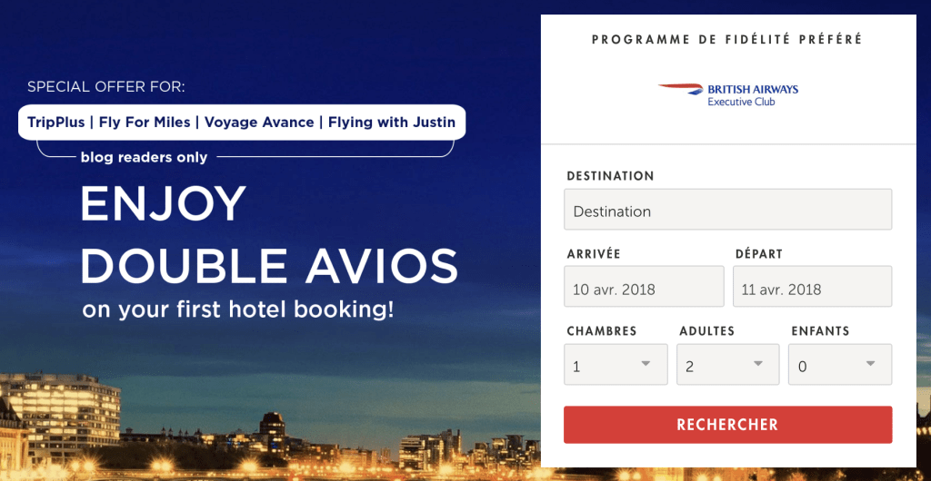 【Finished】Kaligo x ブリティッシュ・エアウェイズ(BA)のホテル予約キャンペーン(2018/4/30まで)