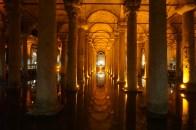 Yerebatan Zisterne (unterirdischer Palast)