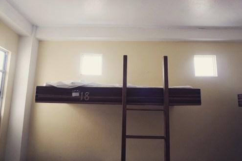 Vom Hostelzimmer...