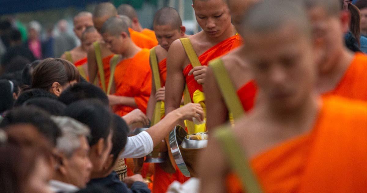 Almsgiving Ceremony