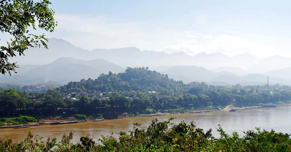 Luang Prabang vue