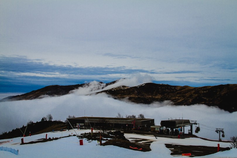 Station ski Gourette nuit