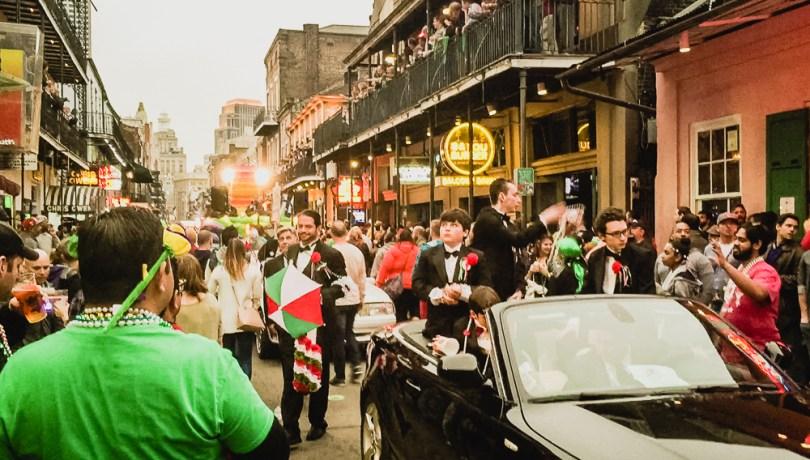 Saint Patrick Nouvelle Orleans Street