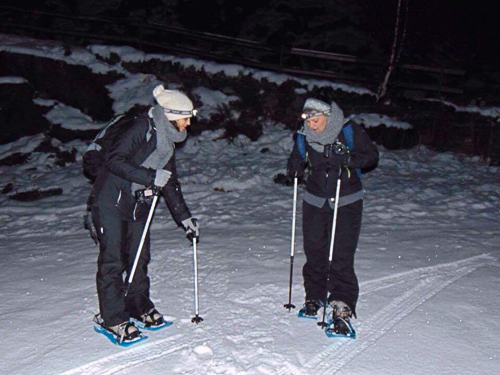 Raquettes de nuit en Andorre