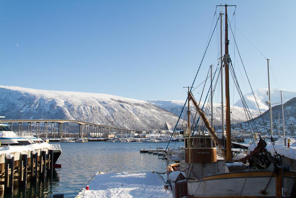 Port Navire Tromso Norvege