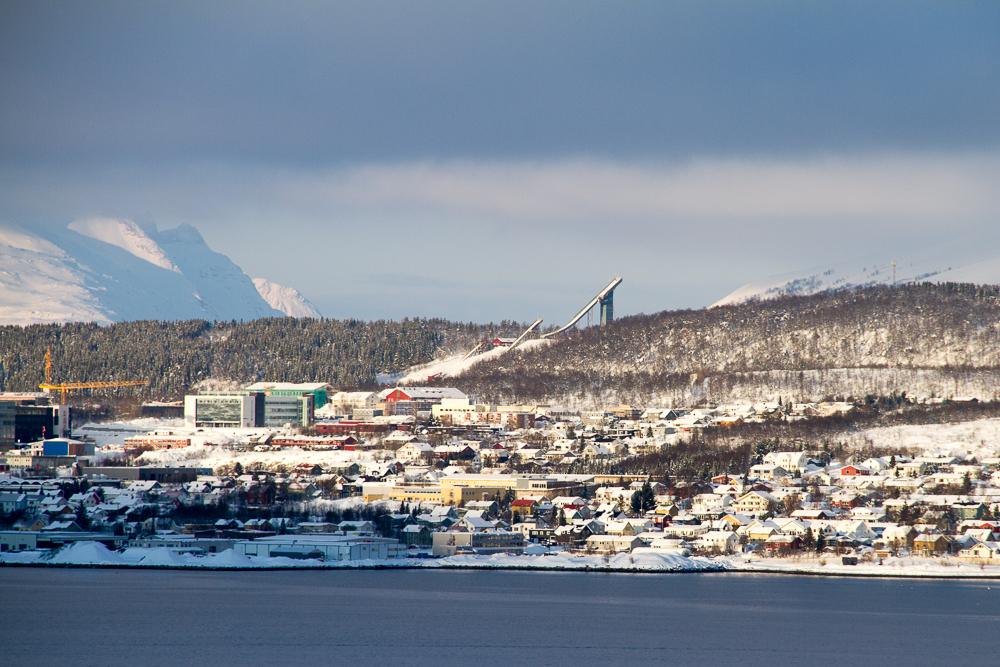 saut à ski Tromso Norvege