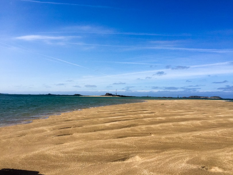 banc sable mer Dinard