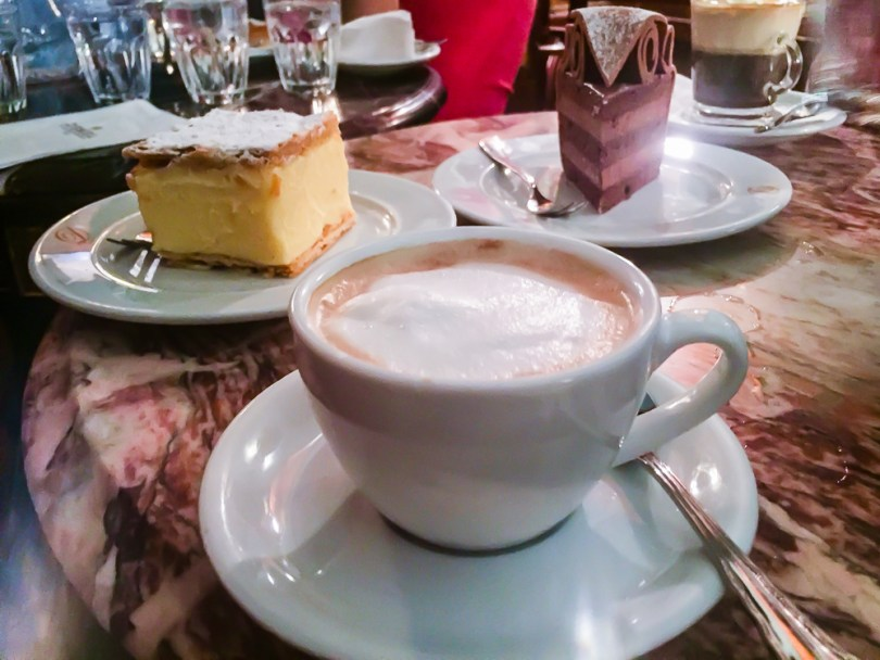 café traditionnel viennois Demel