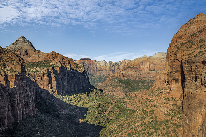 Panorama depuis le Canyon Overlook Trail