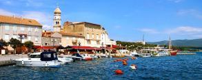 Gyphjolik au port en Croatie