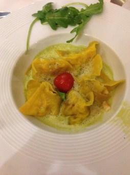 Diner au chat noir - Ravioles de langoustines