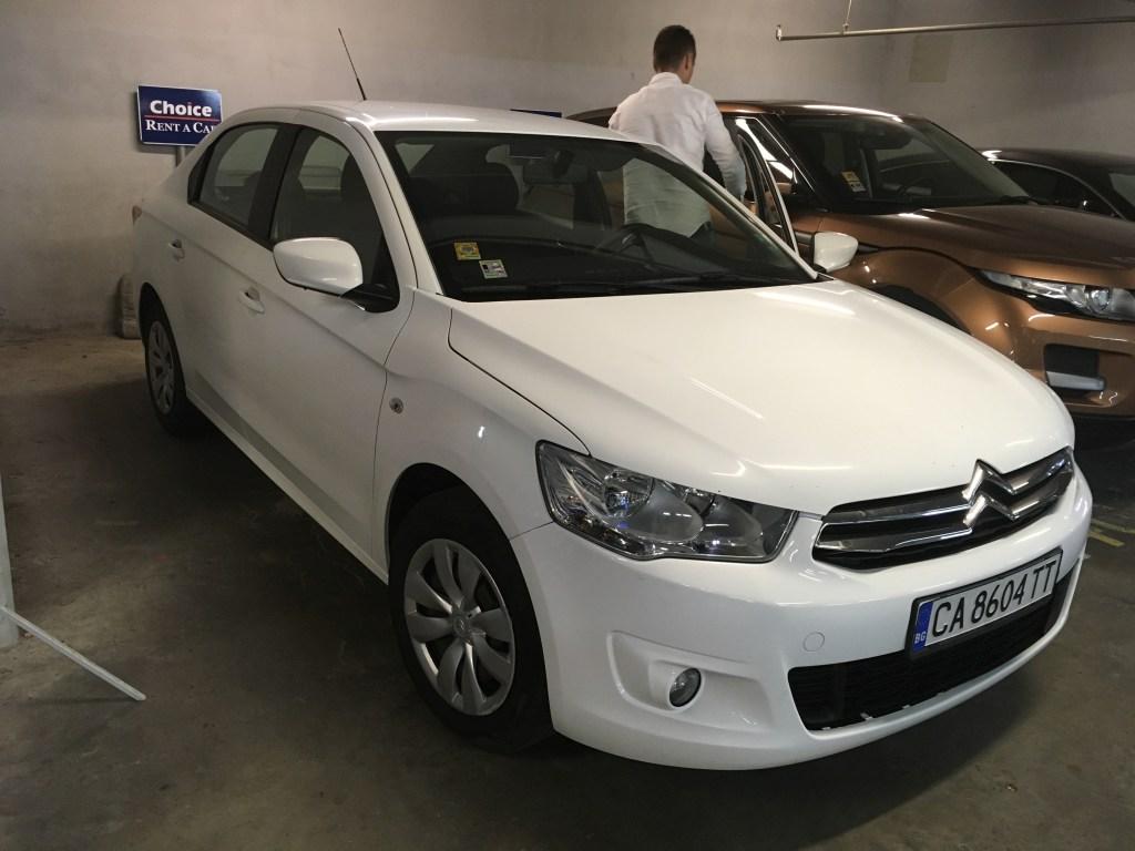 Louer une voiture en Bulgarie