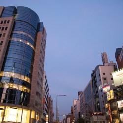 tokyo, street, road