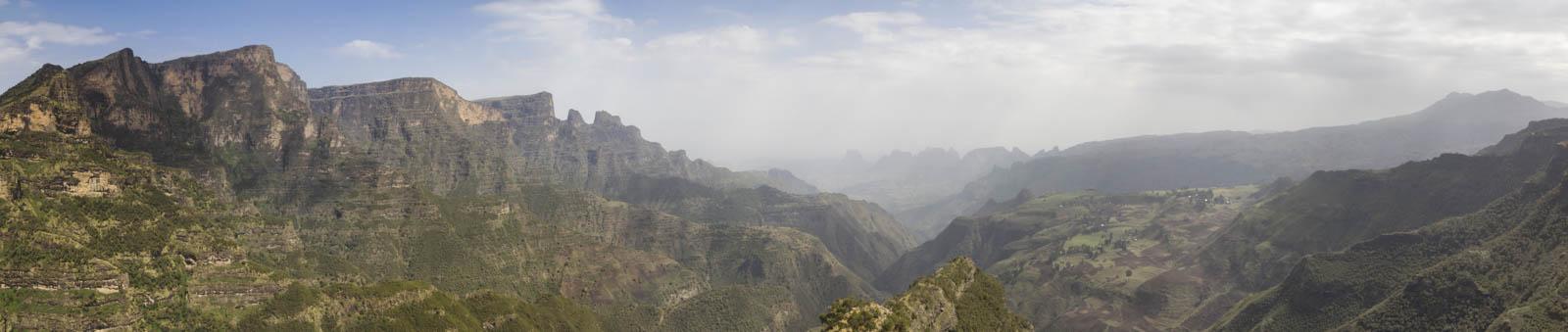 En arpentant les hauts plateaux d'Abyssinie