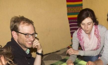 Rachel et Oliver (US) - Lalibela, ETHIOPIE