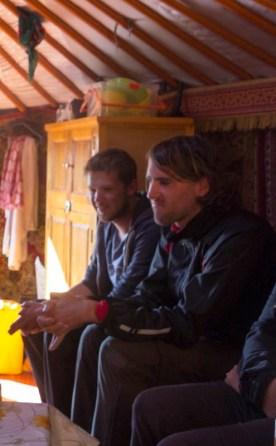 Tristan et Youenn (FR) - Semi Gobi, MONGOLIE