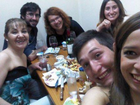 Nayade, Judy, Oscar et Nirvana (CL) - Punta Arenas, Chili