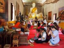 Cérémonie Bouddhiste Ayutthaya