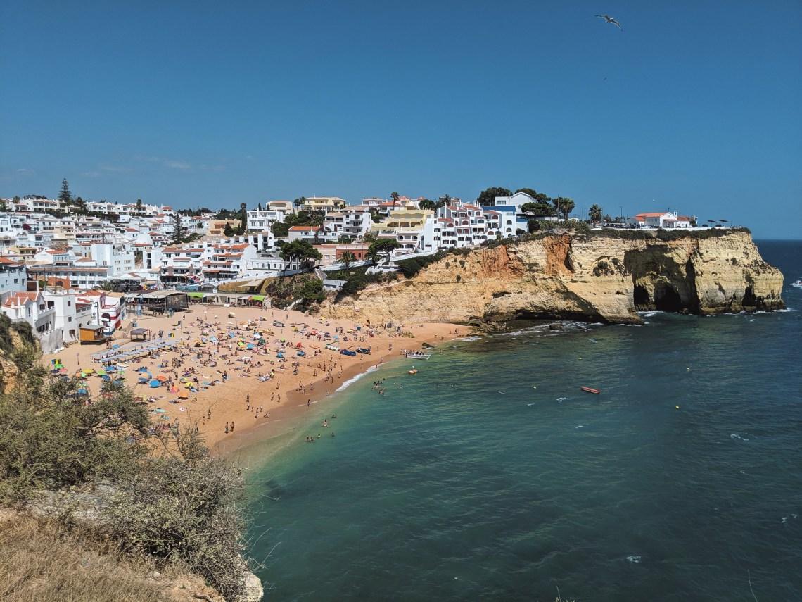 Carvoeiro Portugal Algarve lieux incontournables