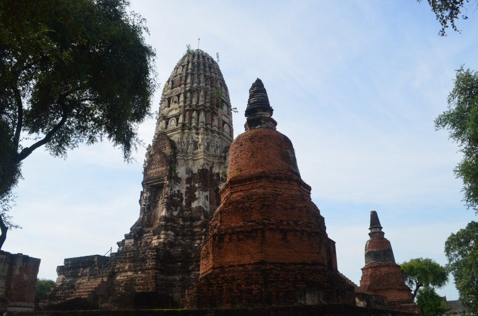 Ruines d'Ayutthaya