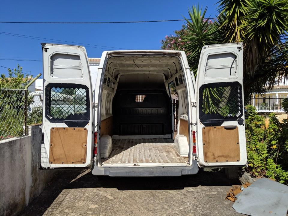 Budget pour acheter et aménager un ford transit
