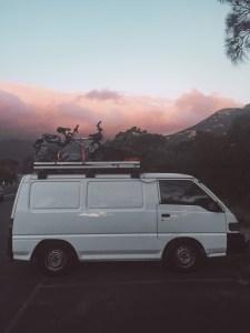 Reprendre la route après une douche gratuite au Wilson Promontory national park