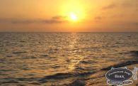 Морской закат в Заозерном