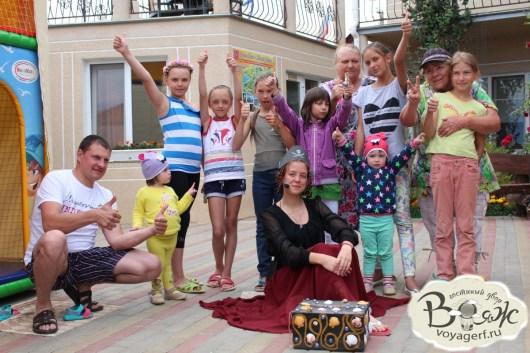 Отдых в Крыму с детьми. Заозерное. Гостиный двор Вояж. Пиратский квест.