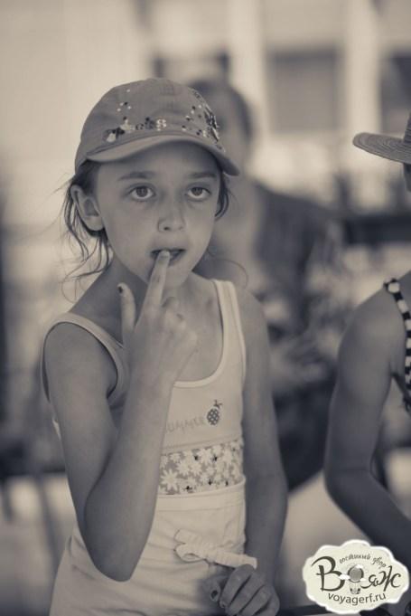 Отдых в Крыму с детьми .Зазерное. Гостиный двор Вояж.