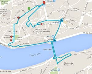 circuit dans Porto