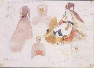 Etudes d'Arabes à cheval