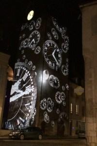 Tour de l'Horloge Beaune Lumieres