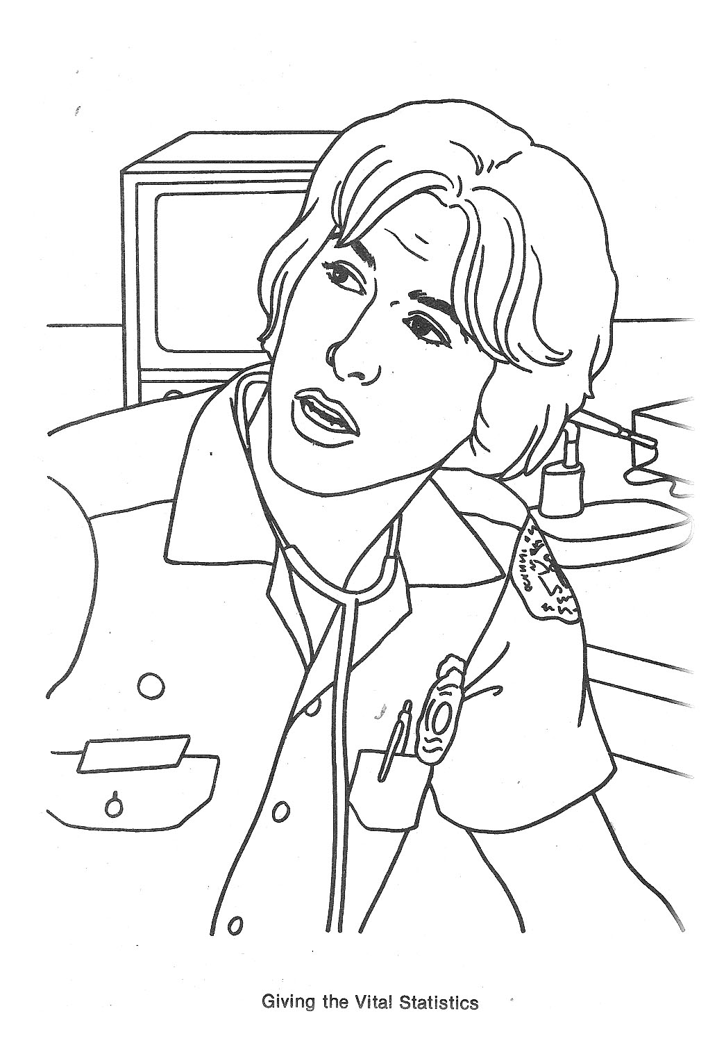 Emergency Tv Show Coloring Pages Sketch Coloring Page
