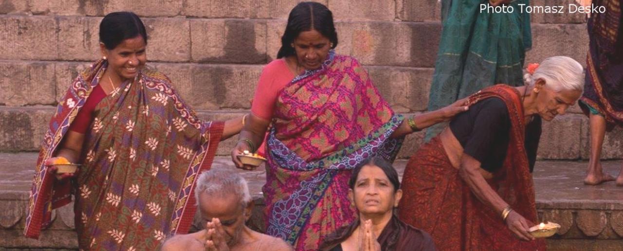 Indie Varanasi gimp