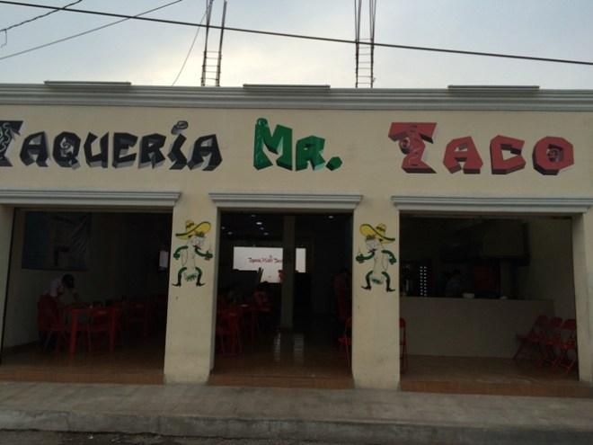 Taqueria mr Taco