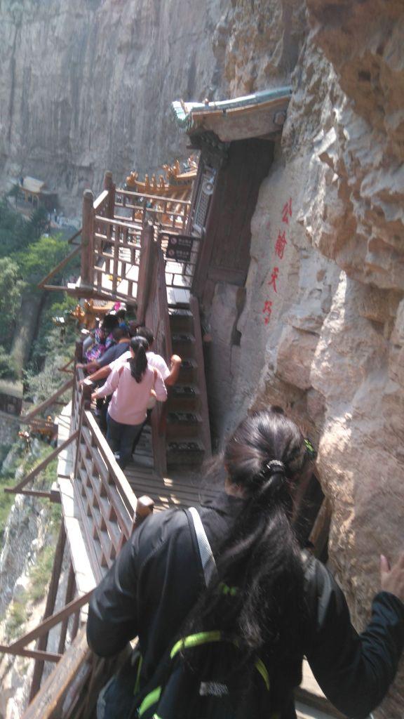 Chiny Wiszą świątynia wewnętrz