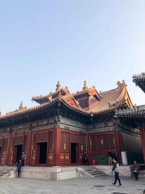 Visiter Pékin : Le Temple des Lamas