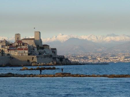 Antibes et ses remparts
