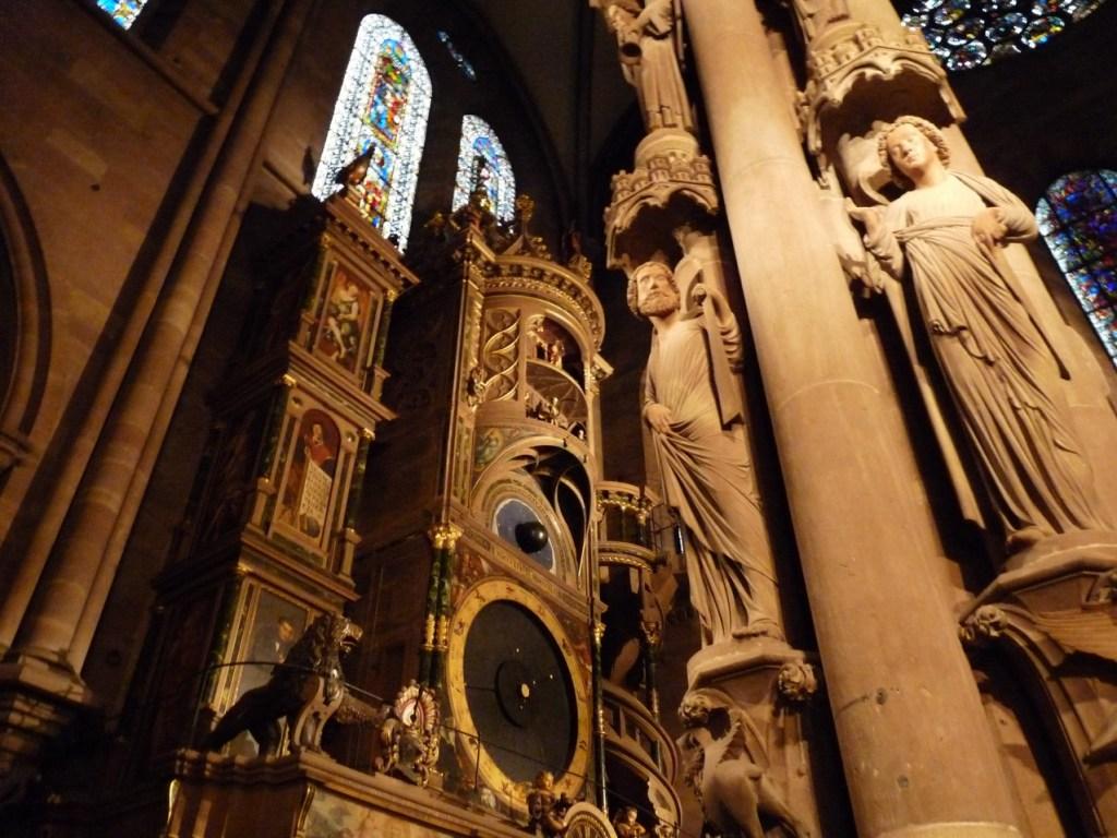 Cathédrale Notre-Dame de Strasbourg - horloge astronomique